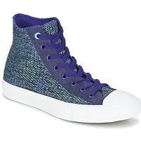 Cipők Férfi Magas szárú edzőcipők Converse CHUCK TAYLOR ALL STAR II OPEN KNIT HI Kék