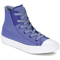 Cipők Gyerek Magas szárú edzőcipők Converse CHUCK TAYLOR ALL STAR II BASKETWEAVE FUSE TD HI Indigó / Kék / Fehér