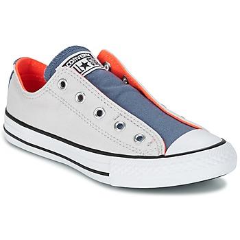 Cipők Gyerek Rövid szárú edzőcipők Converse CHUCK TAYLOR ALL STAR SLIP SUMMER FUNDAMENTALS SLIP Szürke / Kék / Narancssárga