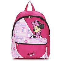 Táskák Lány Hátitáskák Disney MINNIE SCRATCH DOTS SAC A DOS BORNE Rózsaszín