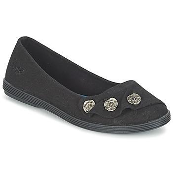 Cipők Női Balerina cipők / babák Blowfish Malibu GARDEN Fekete