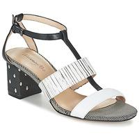 Shoes Női Szandálok / Saruk Metamorf'Ose ZAFNOLO Fekete  / Fehér