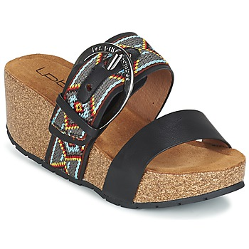 Shoes Női Papucsok Les P'tites Bombes GLYCINE Fekete