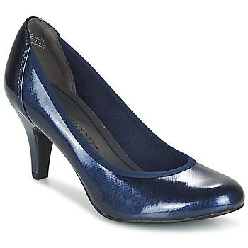 Cipők Női Félcipők Marco Tozzi JAFRAKO Tengerész