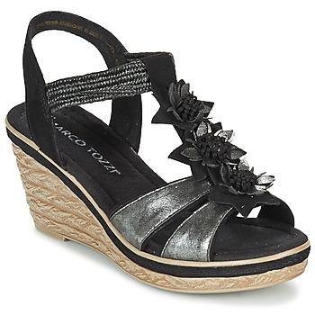 Shoes Női Szandálok / Saruk Marco Tozzi CHAVELA Fekete