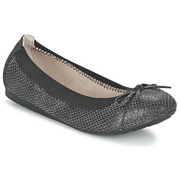 Cipők Női Balerina cipők  Moony Mood ELALA Fekete