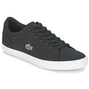 Cipők Férfi Rövid szárú edzőcipők Lacoste LEROND BL 2 Fekete
