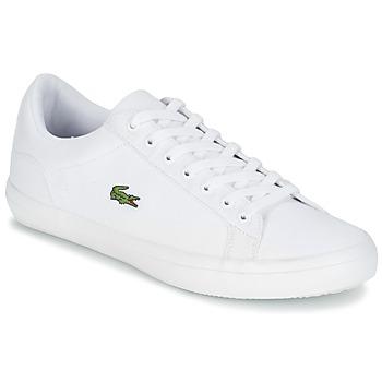 Cipők Férfi Rövid szárú edzőcipők Lacoste LEROND BL 2 Fehér