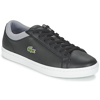 Cipők Férfi Rövid szárú edzőcipők Lacoste STRAIGHTSET SP 117 2 Fekete