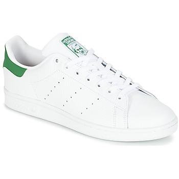 Shoes Rövid szárú edzőcipők adidas Originals STAN SMITH Fehér / Zöld