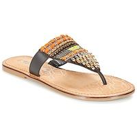 Cipők Női Lábujjközös papucsok Tamaris NIRI Barna