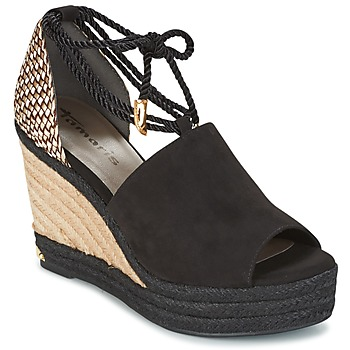 Shoes Női Szandálok / Saruk Tamaris NERE Fekete
