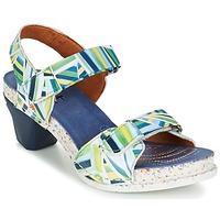 Cipők Női Szandálok / Saruk Art I  ENJOY Kék / Zöld