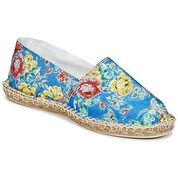 Cipők Női Gyékény talpú cipők Art of Soule PRINT Kék