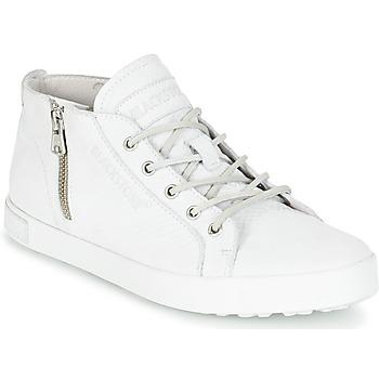 Cipők Női Magas szárú edzőcipők Blackstone NL35 Fehér