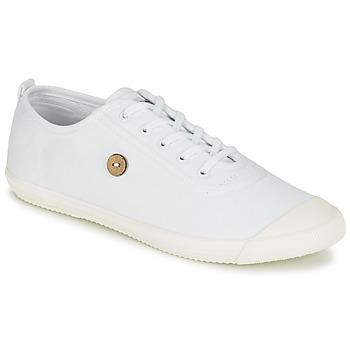 Cipők Rövid szárú edzőcipők Faguo OAK Fehér