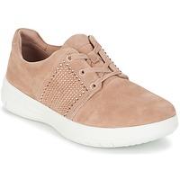 Cipők Női Rövid szárú edzőcipők FitFlop SPORTY-POP X CRYSTAL Rózsaszín