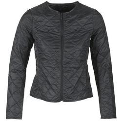 Ruhák Női Steppelt kabátok Benetton JANVIOL Fekete