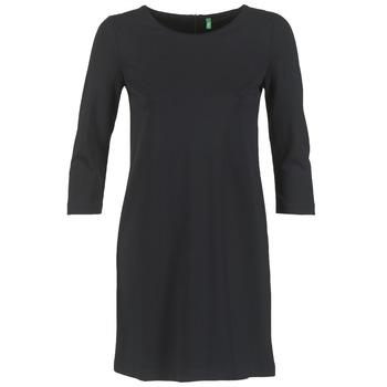 Ruhák Női Rövid ruhák Benetton SAVONI Fekete