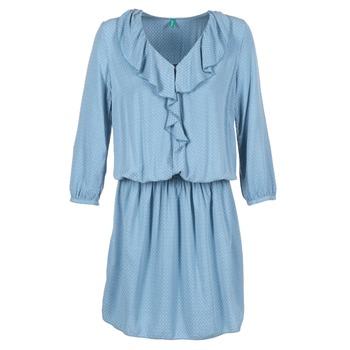 Ruhák Női Rövid ruhák Benetton AFIDOUL Kék