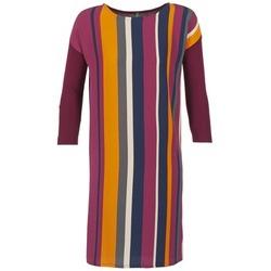 Ruhák Női Rövid ruhák Benetton VAGODA Bordó / Sokszínű