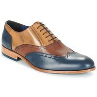 Shoes Férfi Bőrcipők Brett & Sons ROLIATE Barna / Bézs / Kék