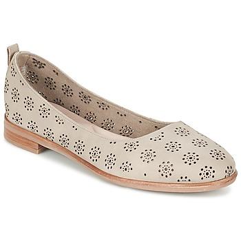 Cipők Női Balerina cipők / babák Clarks ALANIA ROSA Bézs