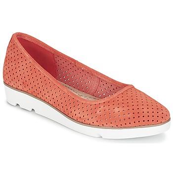 Cipők Női Balerina cipők / babák Clarks EVIE BUZZ Korall