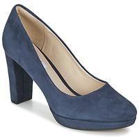 Cipők Női Félcipők Clarks KENDRA SIENNA Kék
