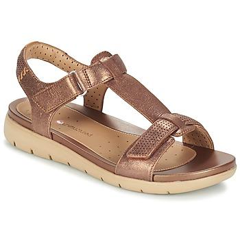 Cipők Női Szandálok / Saruk Clarks UN HAYWOOD Bronz