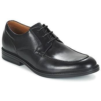 Cipők Férfi Oxford cipők Clarks BECKFIELDAPRON Fekete