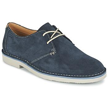 Cipők Férfi Oxford cipők Clarks JARETH WALK Kék