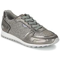 Cipők Női Rövid szárú edzőcipők Dockers by Gerli JOUVELLIA Ezüst