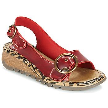Cipők Női Szandálok / Saruk Fly London TRAMFLY Piros
