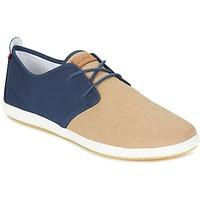 Shoes Férfi Rövid szárú edzőcipők Lafeyt MARTE SUMMER CHAMBRAY Tengerész / Bézs