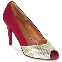Cipők Női Félcipők Heyraud ELOISE Piros / Arany