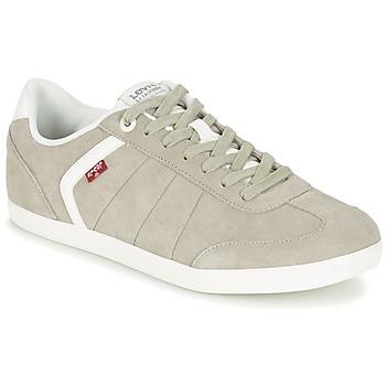Shoes Férfi Rövid szárú edzőcipők Levi's LOCH Szürke