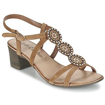 Shoes Női Szandálok / Saruk Lola Espeleta GENIAL Konyak