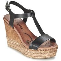 Shoes Női Szandálok / Saruk Lola Espeleta PATSY Fekete