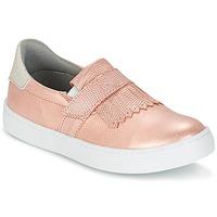 Cipők Lány Belebújós cipők Bullboxer ADJAGUE Rózsaszín / Arany