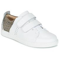 Shoes Női Rövid szárú edzőcipők M. Moustache RENEE Fehér / Jacquard