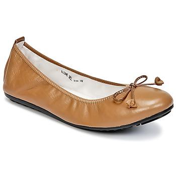 Cipők Női Balerina cipők / babák Mac Douglas ELIANE Barna