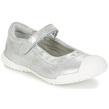 Cipők Lány Balerina cipők / babák Mod'8 PRISCA Ezüst