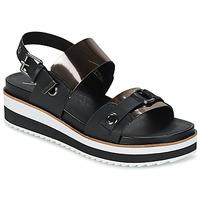 Cipők Női Szandálok / Saruk Coolway DOLPHIN Fekete