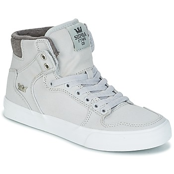 Cipők Magas szárú edzőcipők Supra VAIDER Szürke