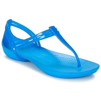 Cipők Női Szandálok / Saruk Crocs CROCS ISABELLA T-strap Kék