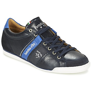 Cipők Férfi Rövid szárú edzőcipők Pantofola d'Oro SAVIO ROMAGNA UOMO LOW Kék