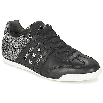 Cipők Férfi Rövid szárú edzőcipők Pantofola d'Oro IMOLA FUNKY UOMO LOW Fekete