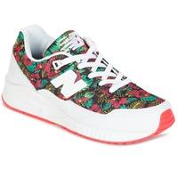 Shoes Női Rövid szárú edzőcipők New Balance W530 Zöld / Piros
