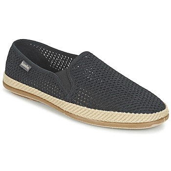 Cipők Férfi Belebújós cipők Bamba By Victoria COPETE ELASTICO REJILLA TRENZA Fekete